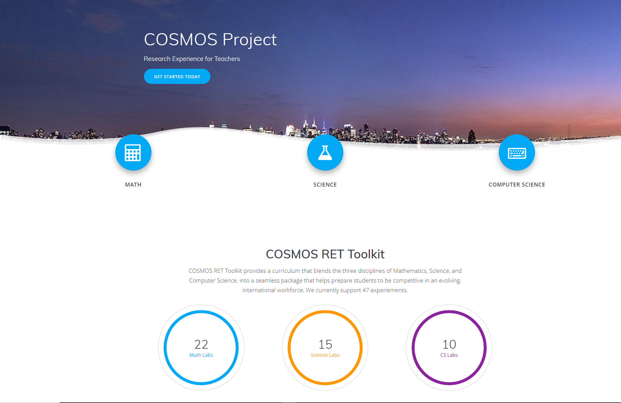 COSMOS Education Toolkit Released