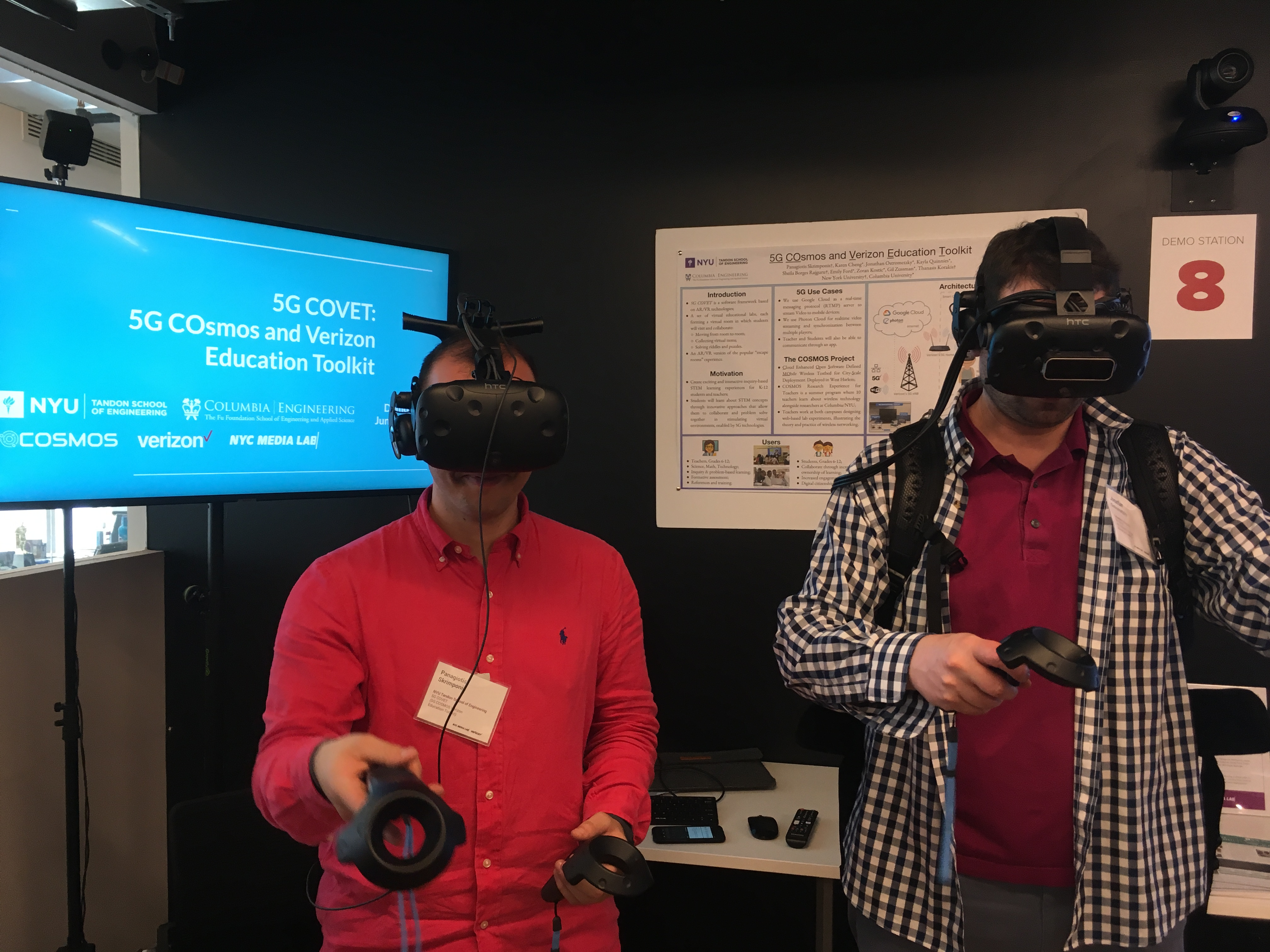 5G COVET Presented in Verizon's 5G EdTech Challenge Demo Day and in Verizon/Ericsson 5G Event