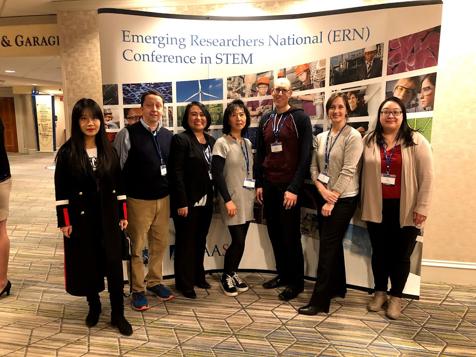 Six Teachers Presented in the AAAS/NSF Emerging Researchers National Conference