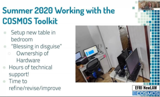 Summer 2020 Working With the COSMOS Toolkit
